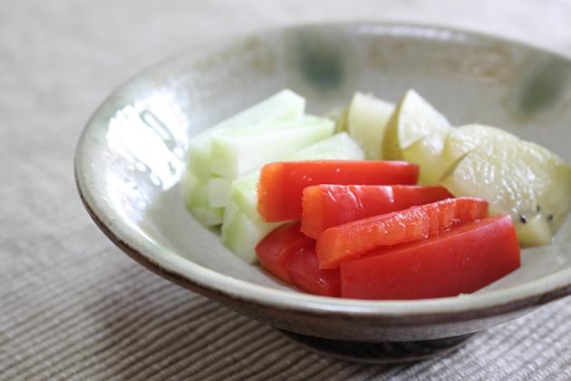 ビタミンC野菜のぬか漬け