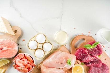 タンパク質と食材