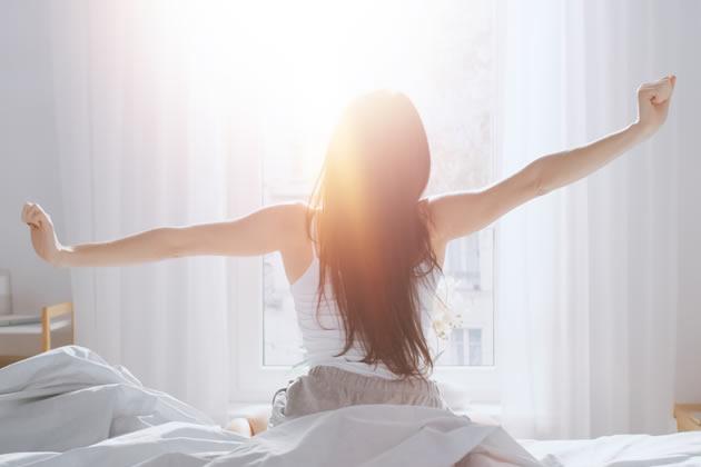 セロトニンを増やす朝の光
